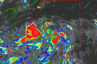 LPA off Palawan now tropical depression 'Leon'