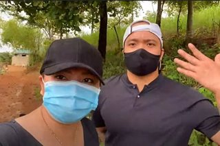 WATCH: Angel Locsin, Neil Arce share first vlog for new YouTube channel