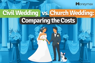 Civil Wedding vs Church Wedding: Comparing the costs