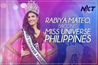 Rabiya Mateo, bagong Miss Universe Philippines
