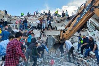 Devastation, as strong quake shakes Turkey and Greece