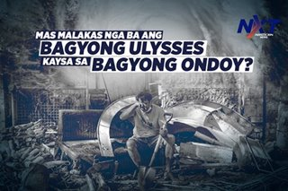 Mas malakas nga ba ang Bagyong Ulysses sa Bagyong Ondoy?