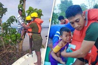 Mahigit 700 katao sinagip ng Philippine Army sa Santo Tomas, Isabela