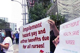 PH medical workers take to streets due to delayed payments, grievances