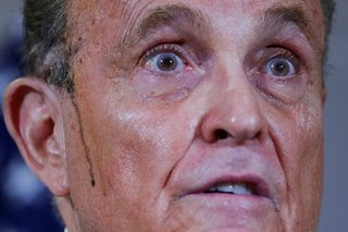 Rudy Giuliani, diagnosed with COVID-19, says will leave hospital soon
