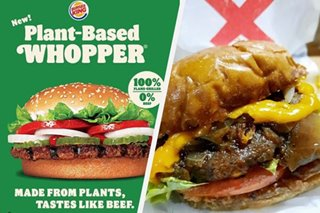 Plant-based burgers you can get delivered straight to your home