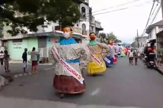 Higantes Festival: Angono honors frontliners during celebration of feast of Saint Clement