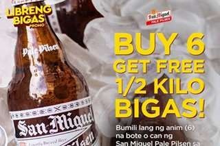 Free rice for every 6 bottles of beer? Here's what people say