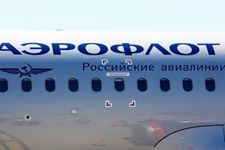 Russia's budget airline under fire for plane's phallic flight route