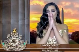 Miss USA wins Miss Earth 2020