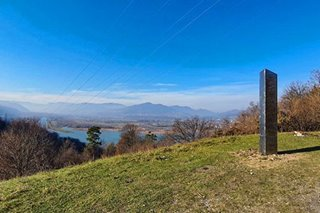 Mystery monolith vanishes in Romania - alien action or local prank?