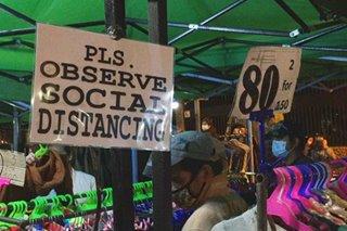 1 araw matapos buksan: Night Market sa Baguio suspendido muli