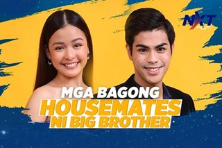 Mga bagong housemates ni Big Brother