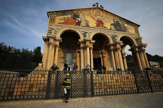 Church near garden where Jesus prayed suffers damage in arson