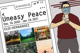 Scenes of empty UP Diliman campus to be exhibited online