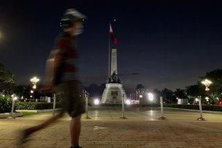 Mga pumasyal sa Luneta, nag-uwian na