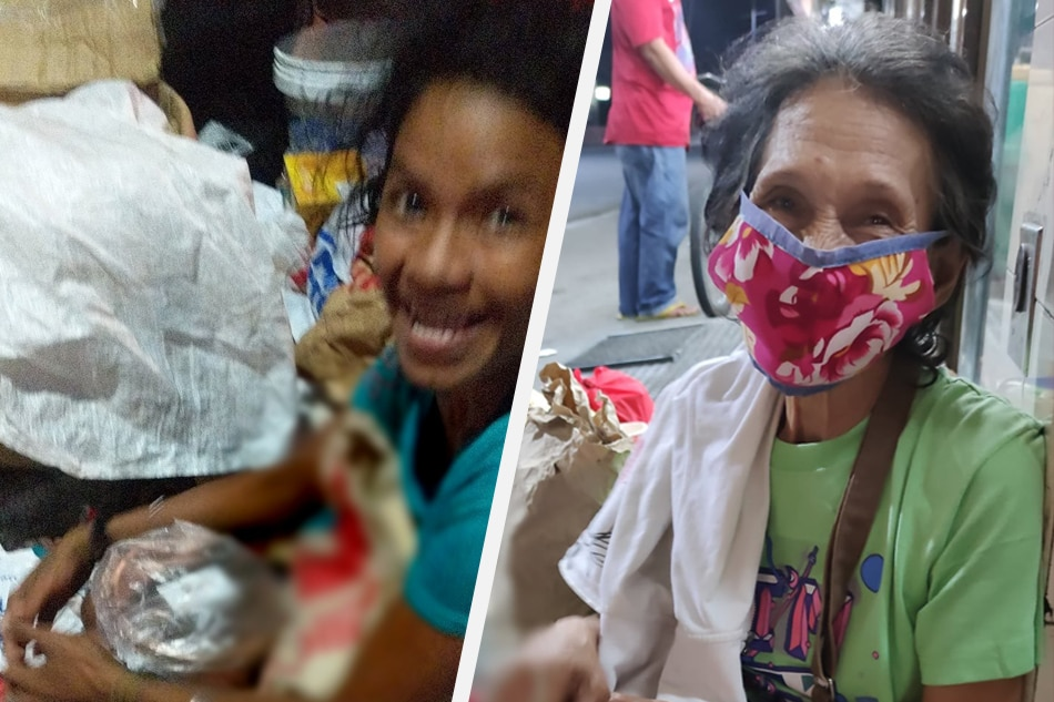 'Paano sila na walang handa?': Bakery gives out food packs to the homeless on Christmas 1