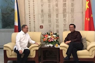Top PH diplomat welcomes 2020 with Chinese envoy