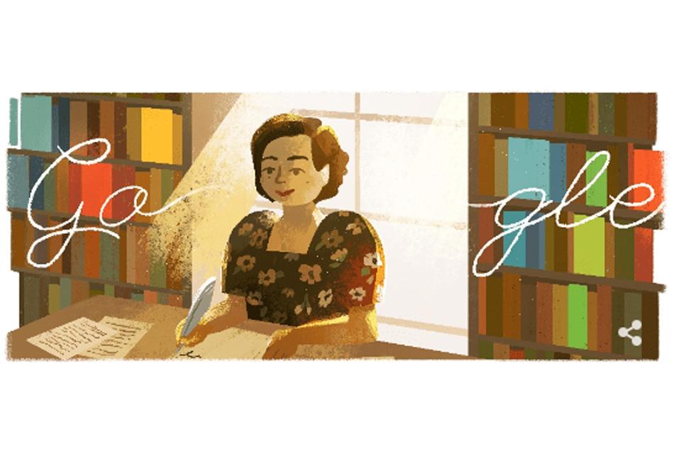 Google honors Filipino author Genoveva Matute 1