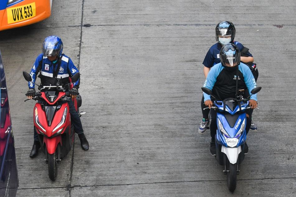 Angkas, Joyride now allowed to resume operations: DOTr 1