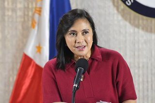 Robredo tells lockdown enforcers: COVID-19 is the enemy, not Filipinos
