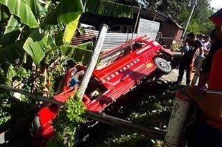 Jeep nahulog sa kanal sa Iloilo; 11 sugatan