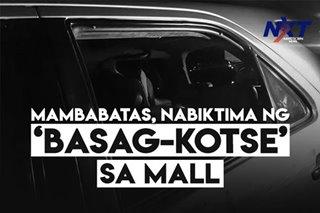 Mambabatas, nabiktima ng 'basag-kotse' sa mall