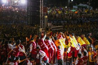 Cardinal Tagle calls for peace in Middle East as Traslacion 2020 begins