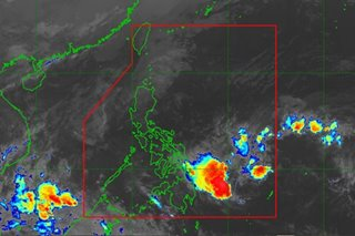 LPA to dampen Eastern Visayas, Caraga but unlikely to become a storm