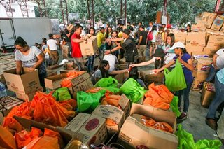 Batangas taps Coast Guard to move aid for Taal survivors