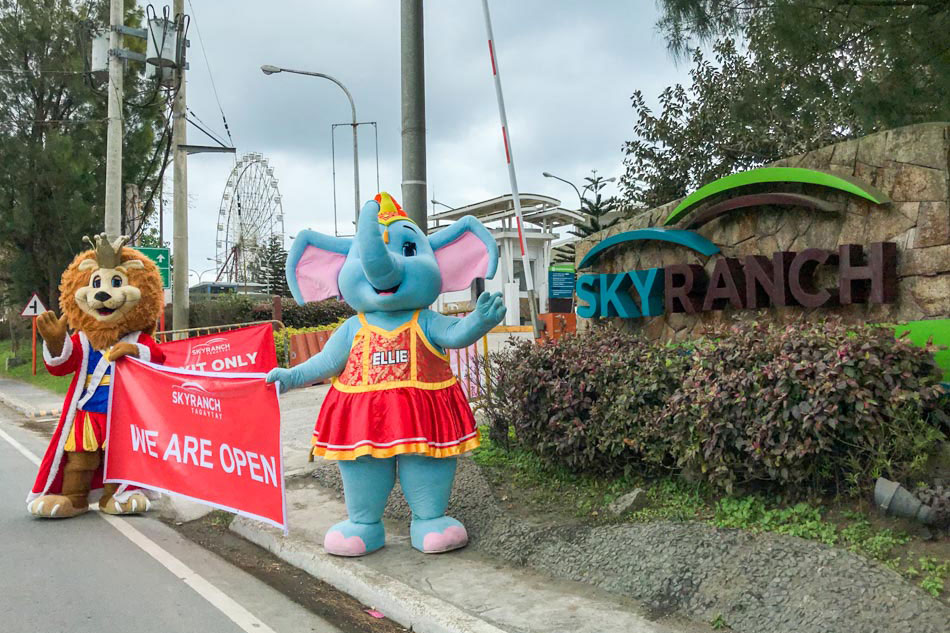 Tagaytay Sky Ranch re-opens