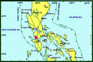 Quakes rock Batangas, strongest at magnitude 4.6