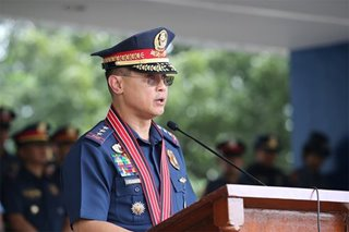 New PNP chief admits can't eradicate drugs, strives to reduce problem