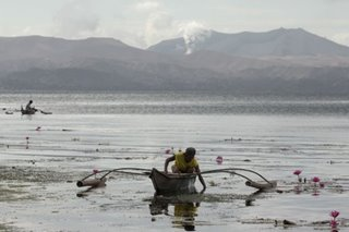Taal still swollen with magma: Phivolcs
