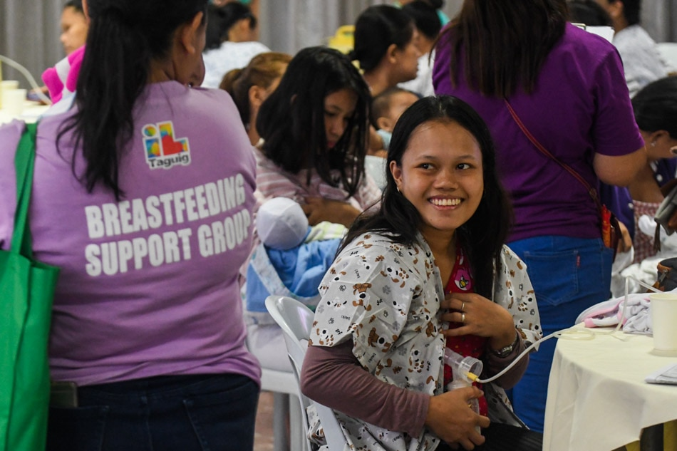 Breast milk donations for Taal evacuees