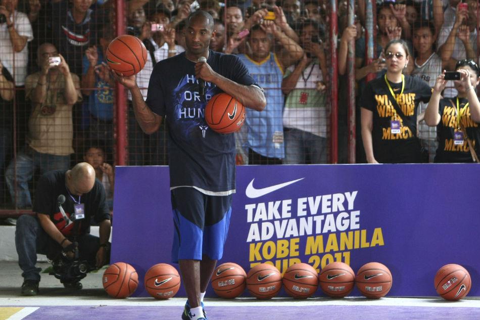 Kobe bryant mamba mentality manila
