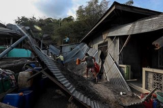 Taal evacuees start returning to ash-coated homes as danger remains