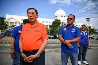 Enrile graft, plunder cases to proceed after signing of pre-trial order