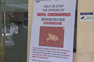 Private hospitals handa sa mga magpapatingin para sa novel coronavirus