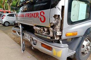 Mag-anak inararo ng truck sa Laguna; 3 patay, 2 sugatan