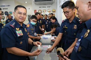 New PNP chief orders reshuffle, surprise drug test of senior officers