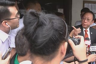 WATCH: Solicitor General confronts ABS-CBN reporter