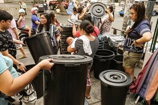 Maynilad supply cuts stay; virus scare ups water consumption