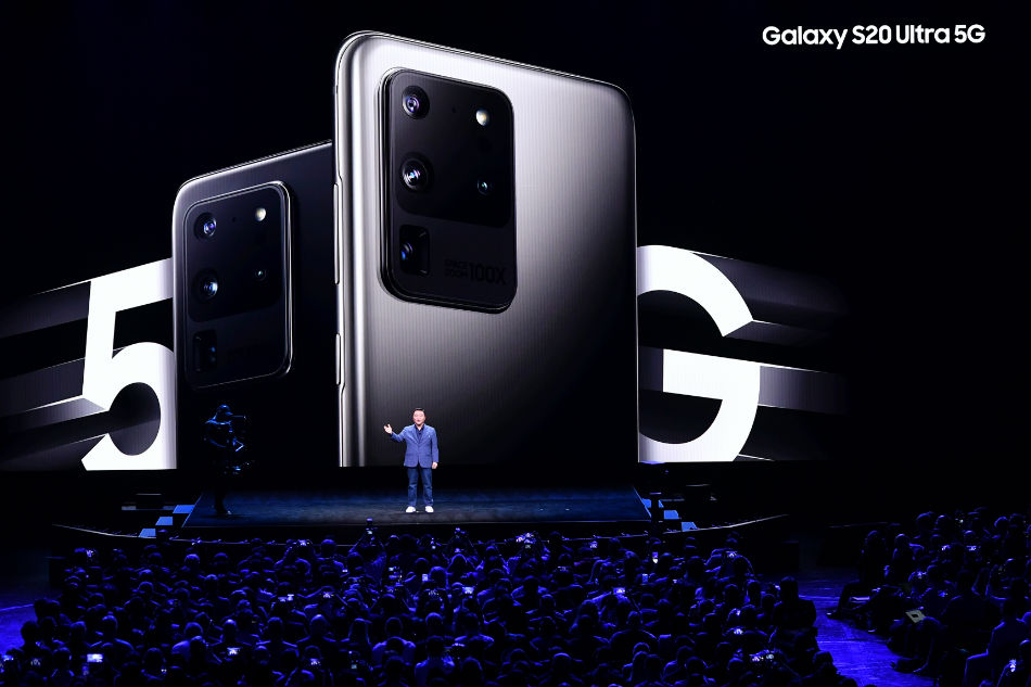 IN PICTURES: Samsung Galaxy S20 Ultra, Galaxy Z Flip 2