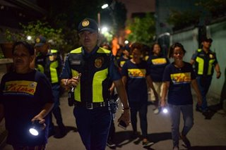 Death squad disrupters: Filipina patrols help keep drug killings at bay