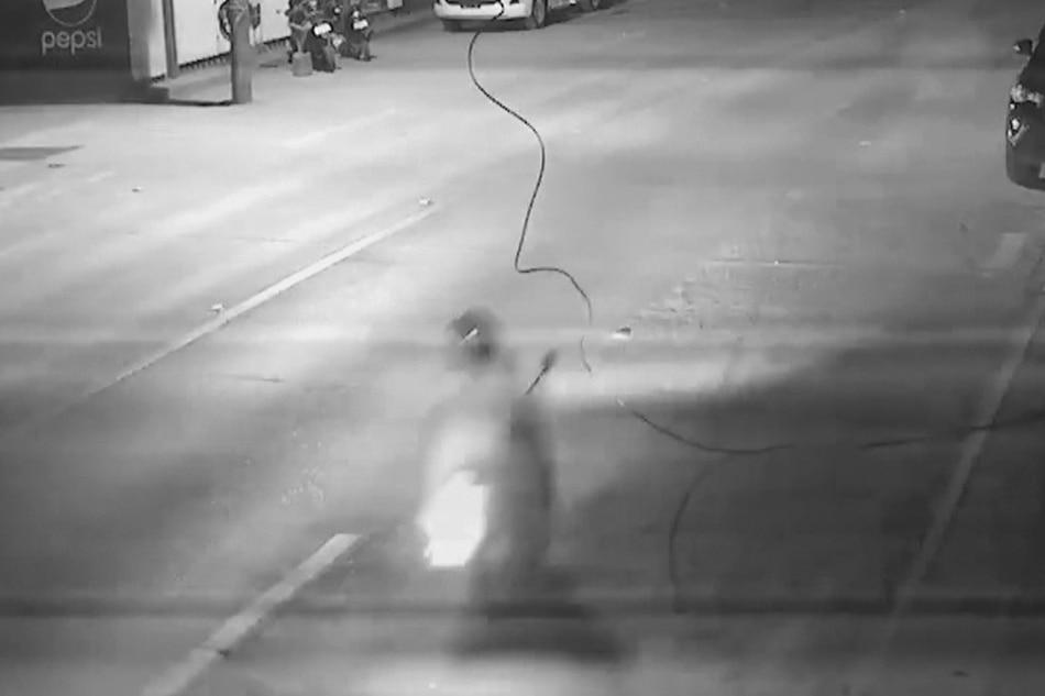 Rider sugatan nang sumabit ang leeg sa nakalaylay na kable