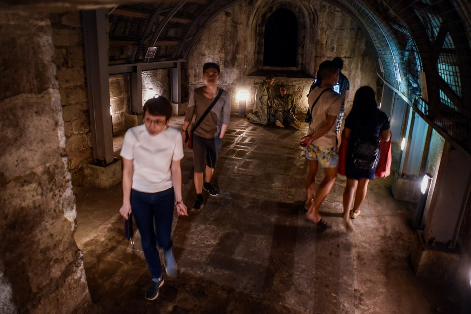 Intramuros opens dungeons of Fort Santiago to visitors