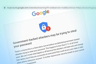 Some ABS-CBN employees get alert on 'government-backed' hack attempt