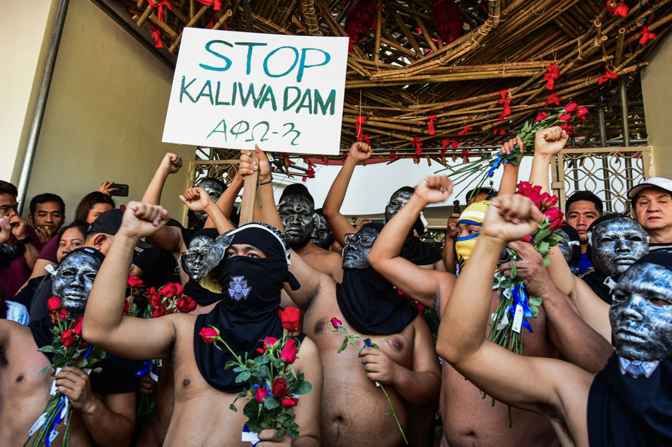 Oblation run calls for cancellation of Kaliwa Dam project