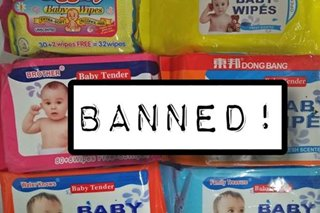 Baguio bans sale of 6 brands of 'harmful' wet wipes